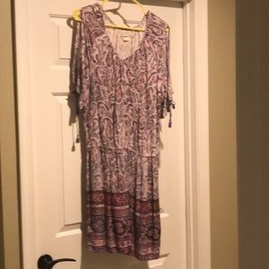 Ruff Hewn purple large dress for spring.